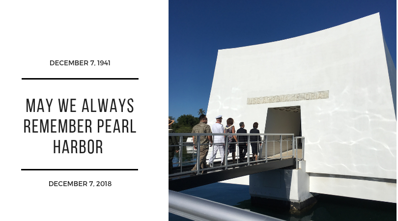 77th Anniversary: Pearl Harbor Remembrance Day