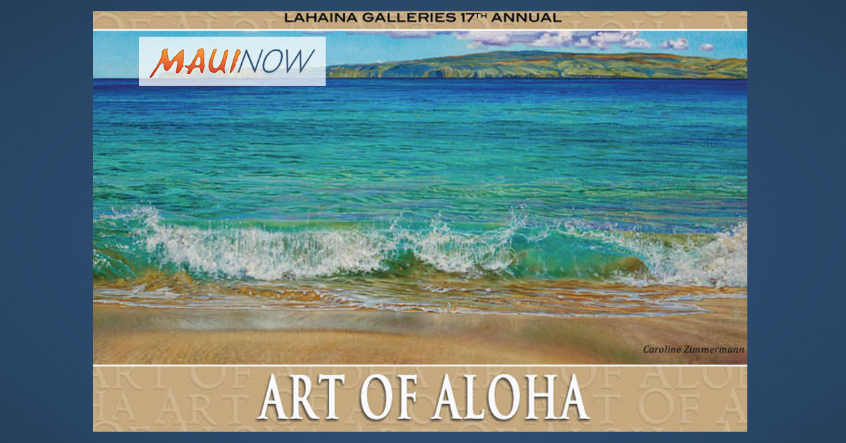 "17th Annual ""Art of Aloha"" Jan. 27"