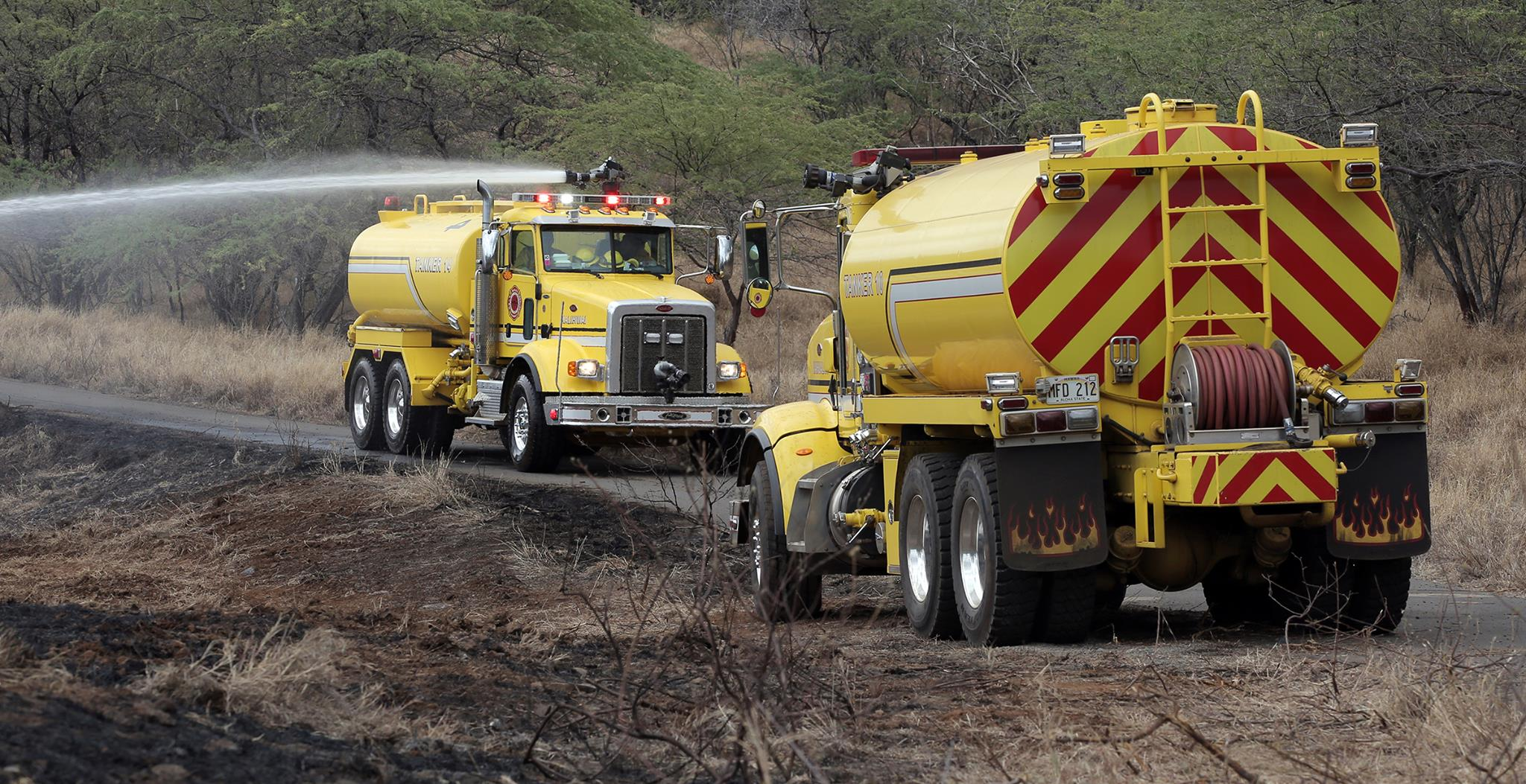 Wailea Fire 100% Contained