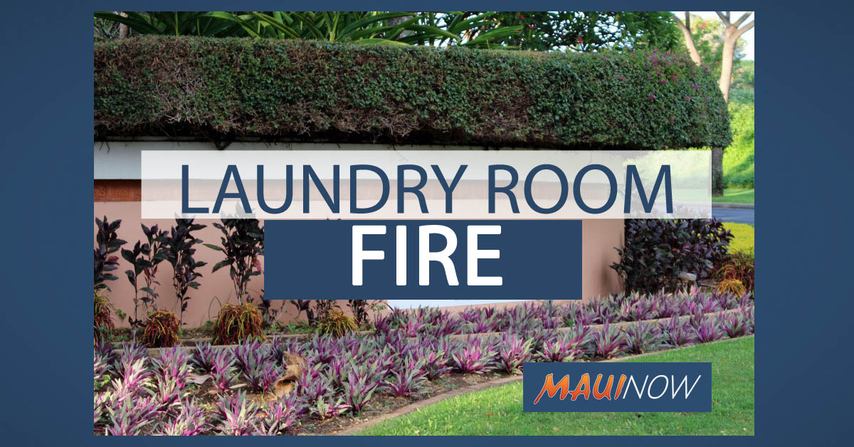 Wailea Resort Laundry Room Fire