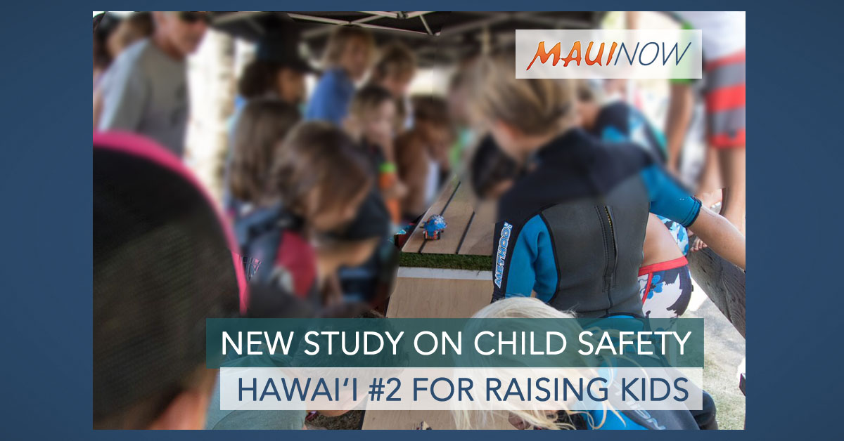Study: Hawai'i #2 State For Raising Kids