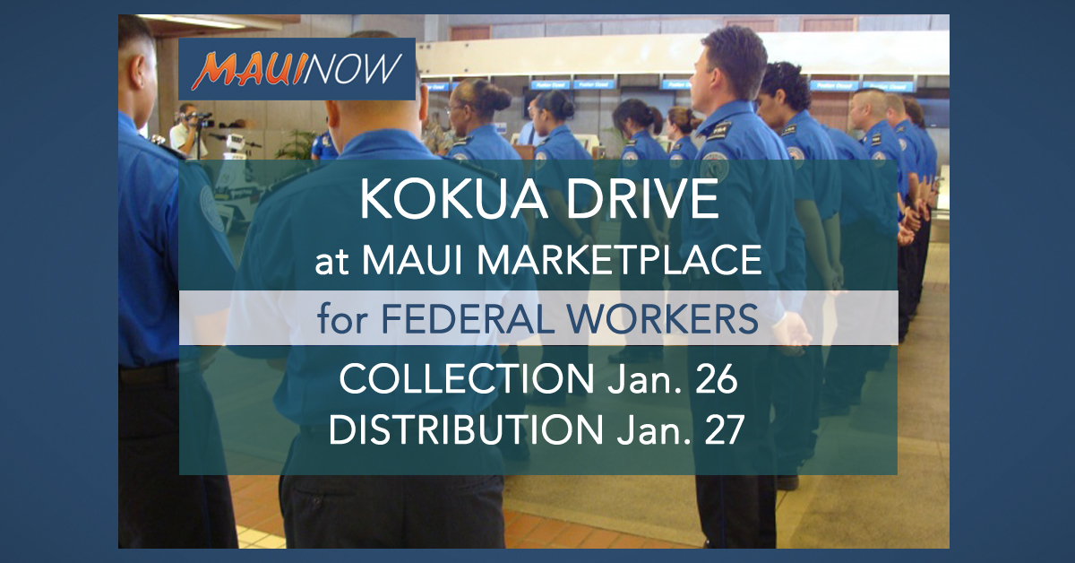 Maui Kōkua Collection & Distribution Drive This Weekend