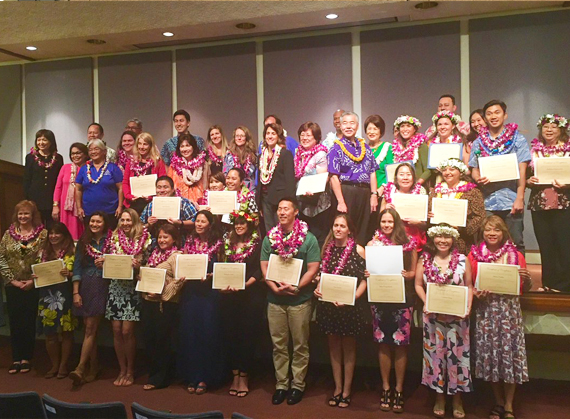 10 Maui Teachers Earn, Renew National Board Certification