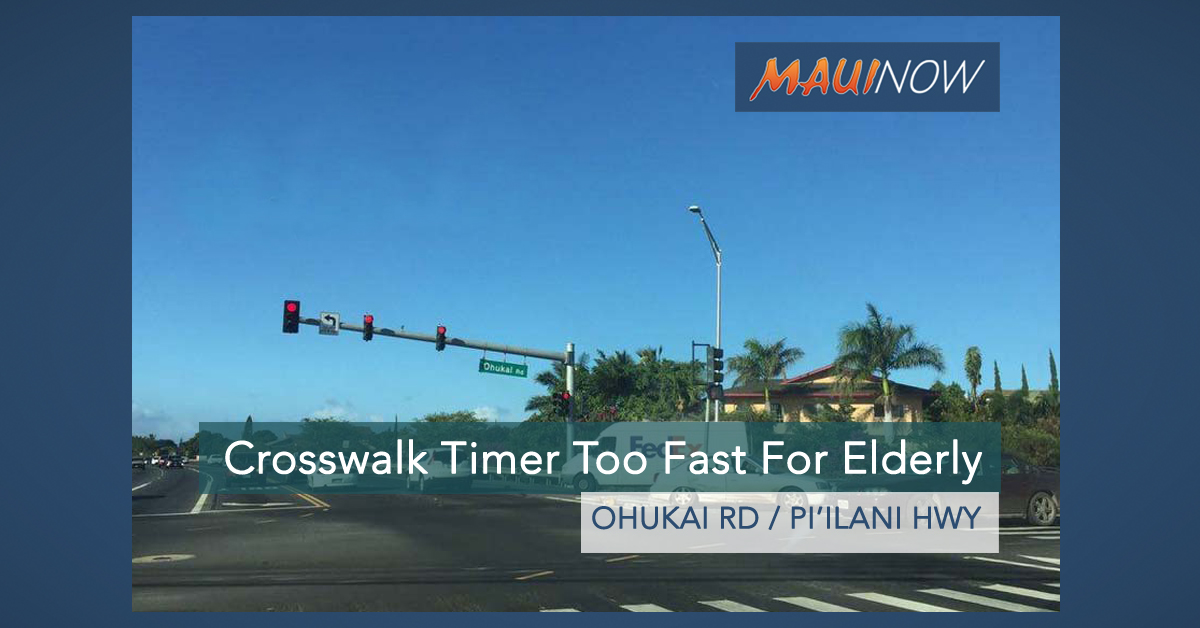 Ask The Mayor: Can You Fix the Crosswalk Timer at Ohukai?