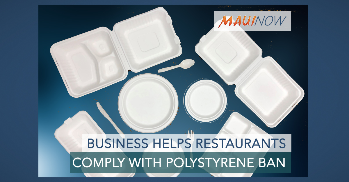 Business Helps Restaurants Comply with Polystyrene Ban