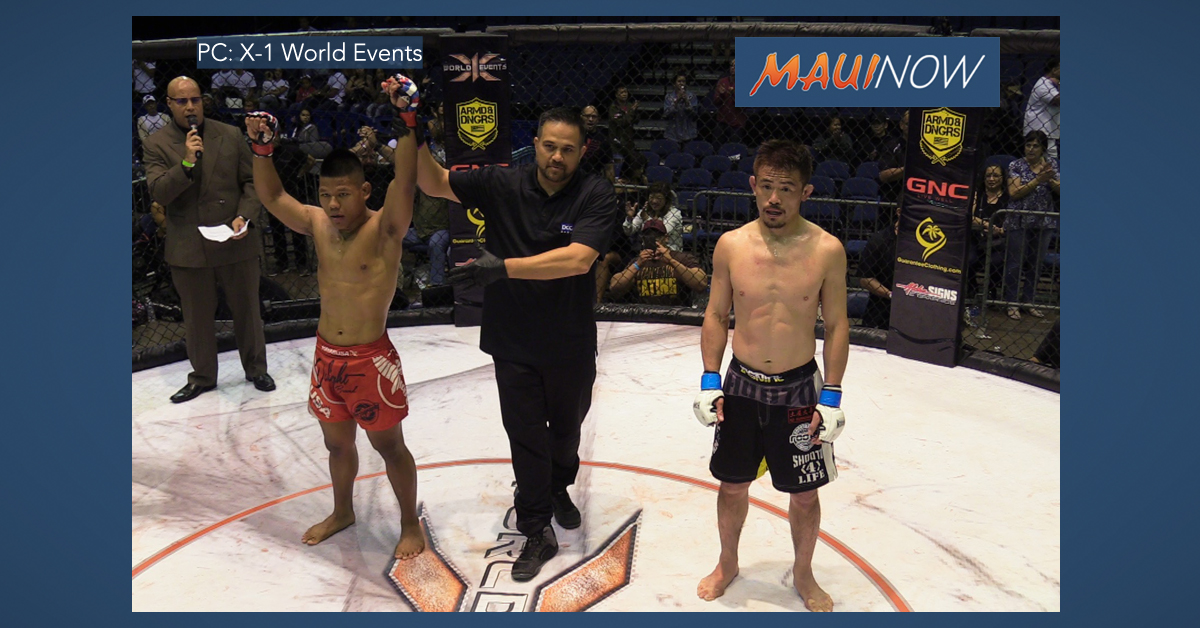Maui MMA Fighters Do Well in X-1 World Events #51