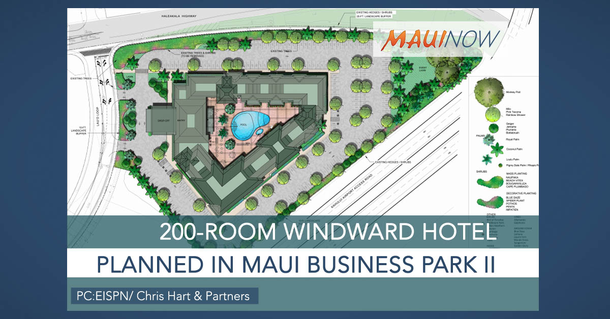 200-Room Windward Hotel Planned in Kahului, Maui