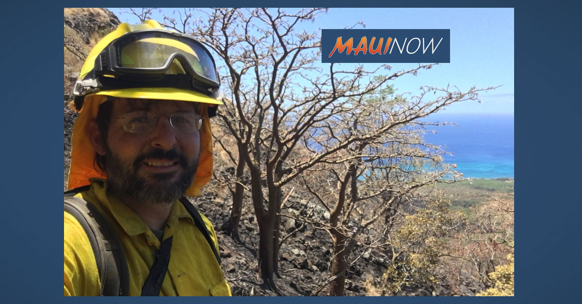 Wildland Fire Training on Mahi Pono Parcel on July 7