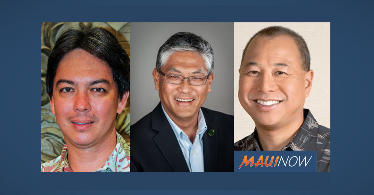 Gov. Ige Announces Three New State Department Directors