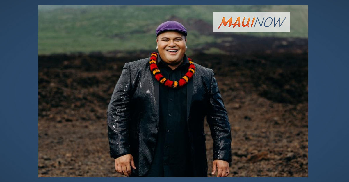Grammy Winner Kalani Pe'a Performs at The Shops at Wailea, Jan. 16