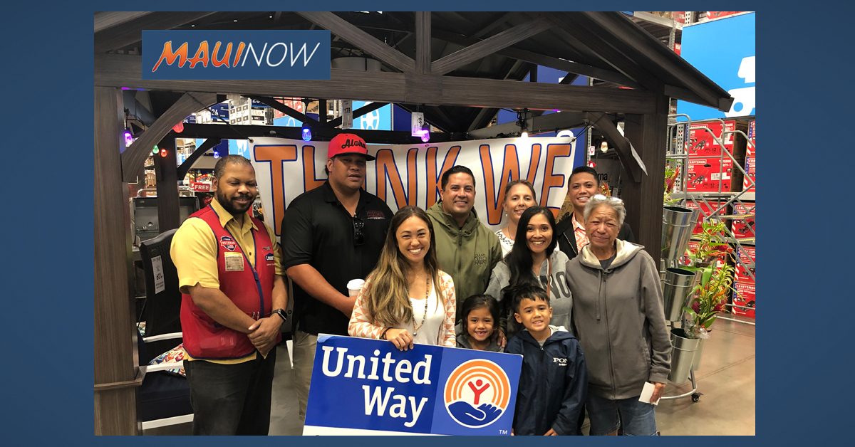 Maui United Way Opens Up Resources to All Maui County 501c3's in 2020