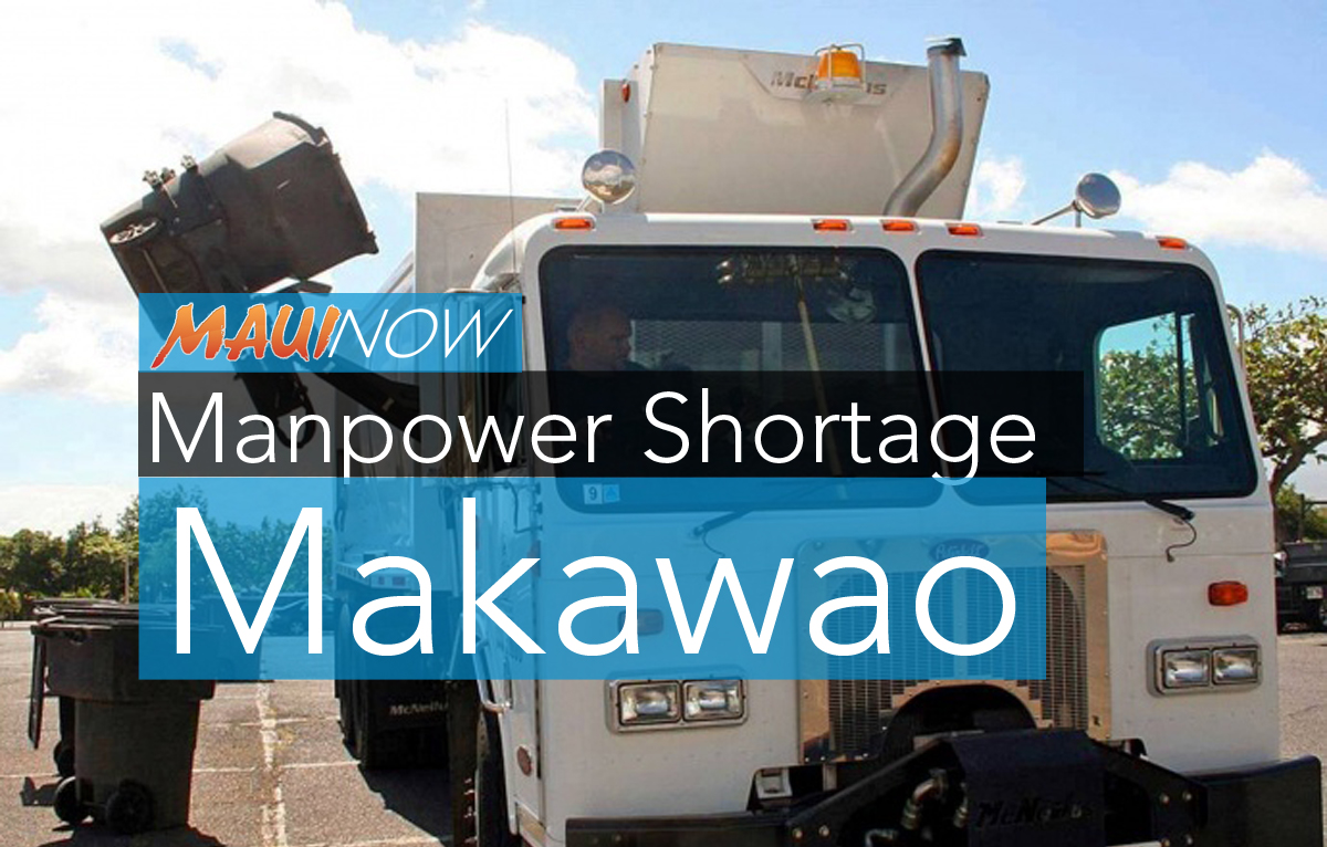 Curbside Refuse Collection Rescheduled in Makawao