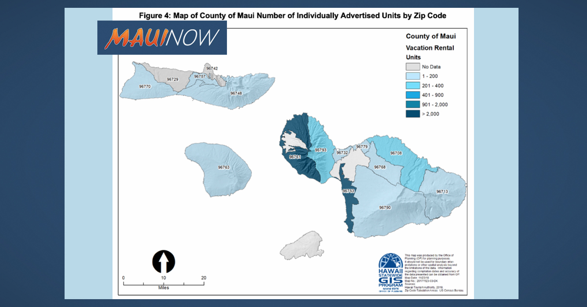 Maui Has 26% of State's Visitor Accommodation Units
