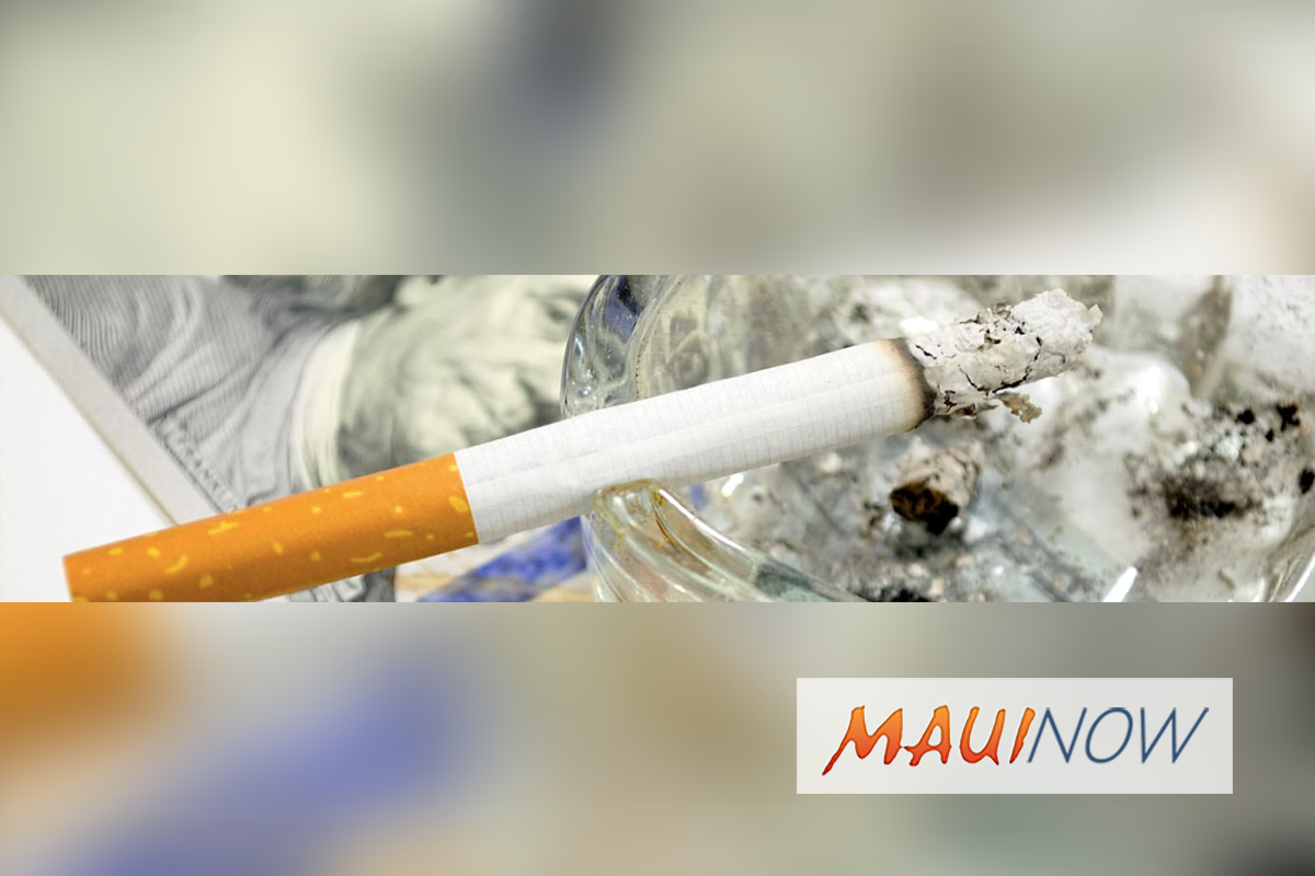 Tobacco Costs Average Hawai'i Smoker More than $2 Million Over a Lifetime,  Study Finds