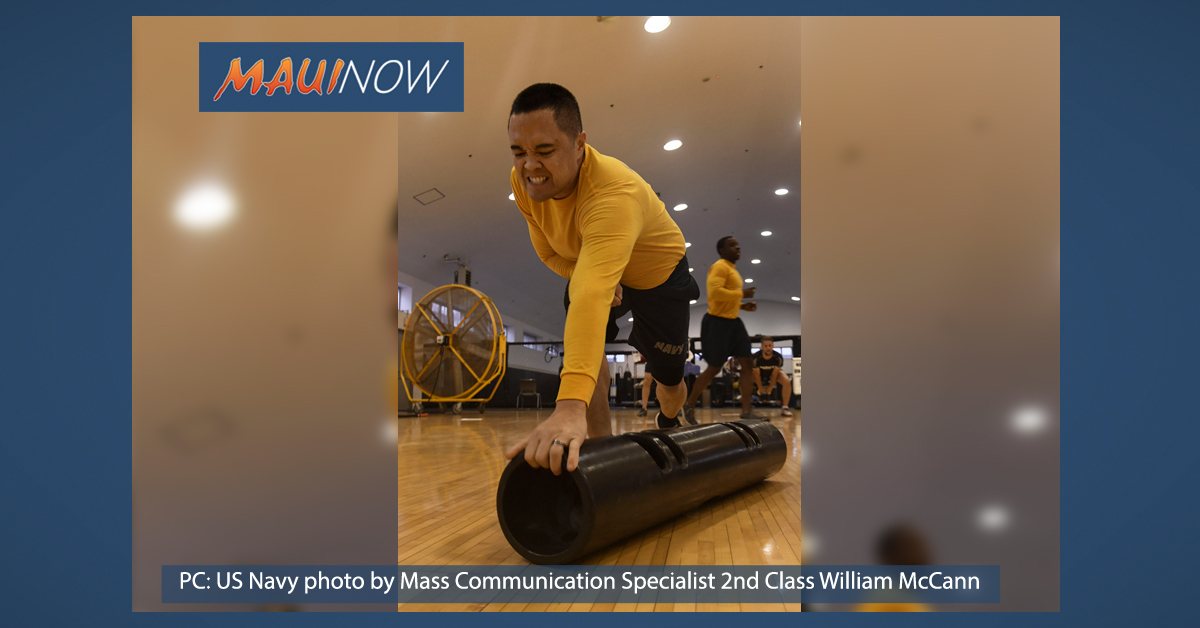 PHOTO: Maui Sailor Participates in Navy Fitness Challenge