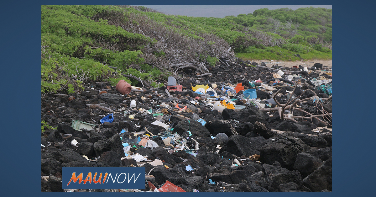 250 Tons of Marine Debris Collected on Hawai'i Island