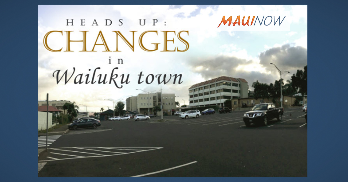 Wailuku Civic Complex Presentation Planned