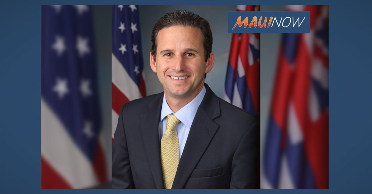 Schatz To Host Town Hall Meeting On Maui