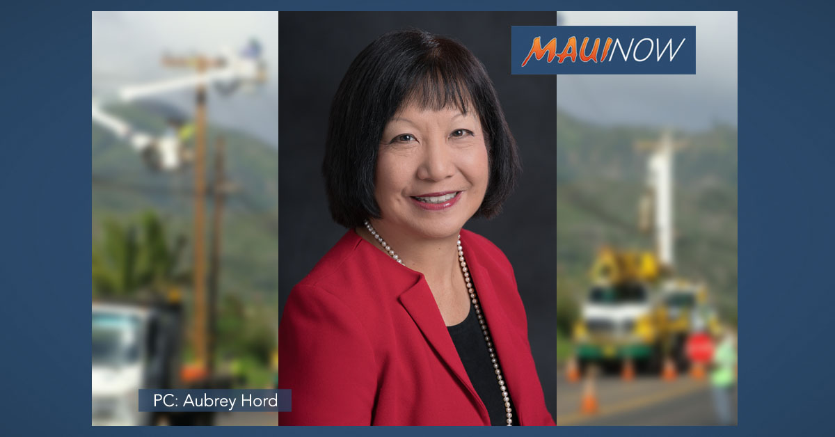 Sharon Suzuki Named President of Maui, Hawai'i Island Utilities