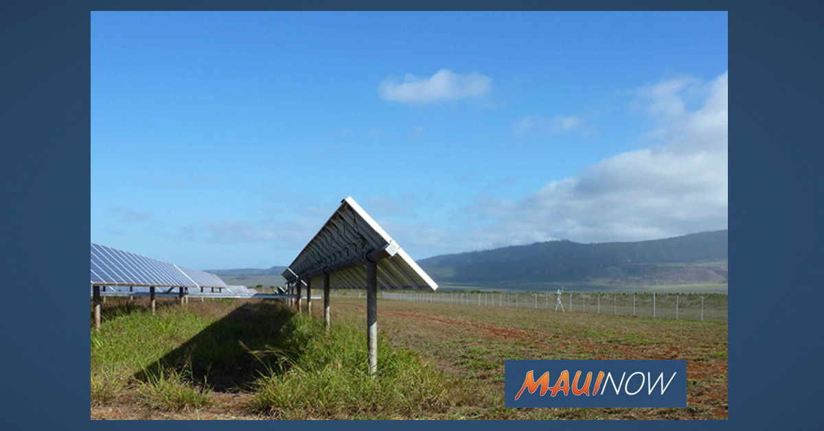 Hawaiian Electric Sees Renewable Energy Rise