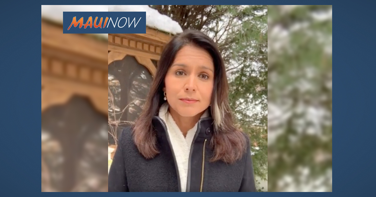 Rep. Tulsi Gabbard Releases Apology Video, Clarifies LGBTQ Stance