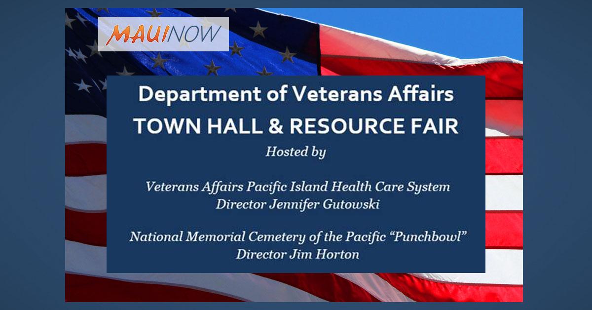 Veteran Town Hall & Resource Fair, Jan. 24