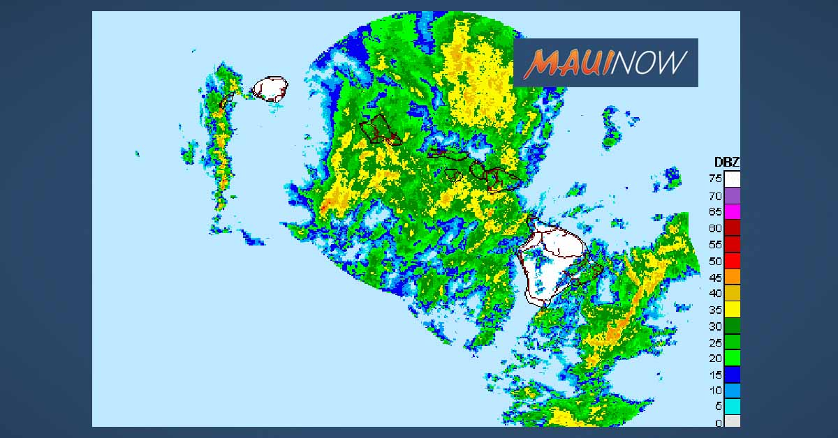 Maui Flood Advisory Until 11:15 a.m.