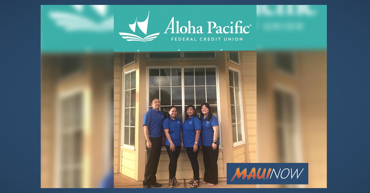 Aloha Pacific Credit Union Expands to Maui