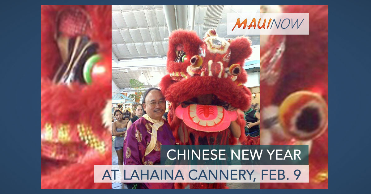 Chinese New Year at Lahaina Cannery, Feb. 9