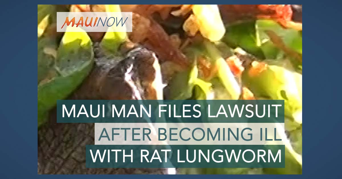 Maui Man Files Lawsuit After Rat Lungworm Illness