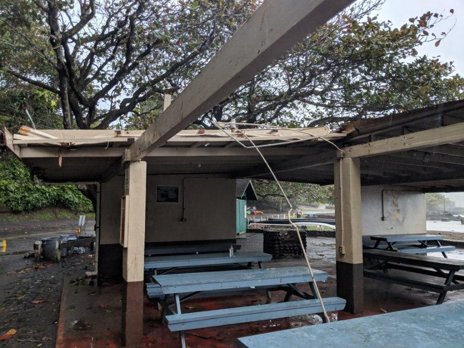 Hāna Bay Beach Park Pavilion to Close Temporarily for Painting