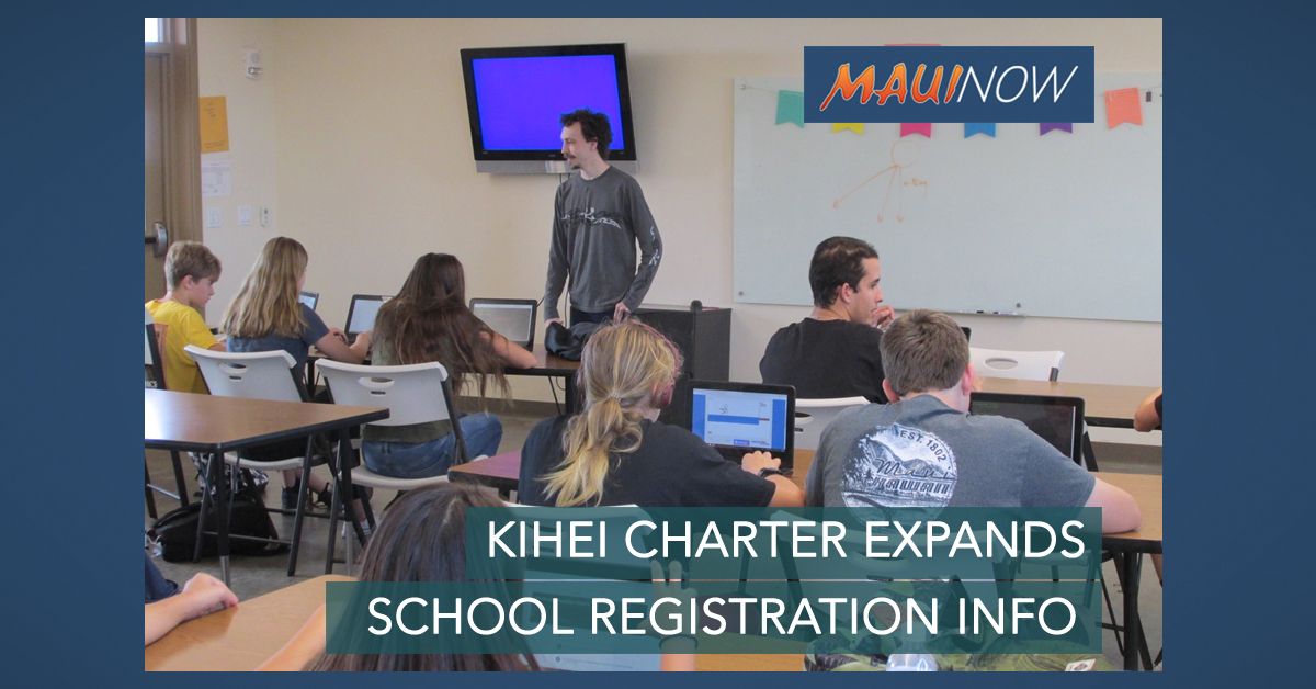 Kīhei Charter School Expands, Registration Begins in March