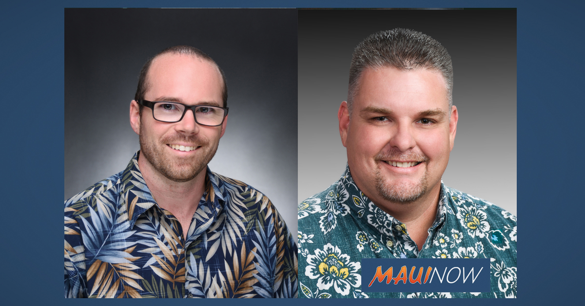 Bank of Hawai'i Announces New Vice Presidents on Maui