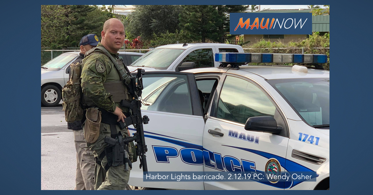 Maui Police Respond to Barricade Incident at Harbor Lights