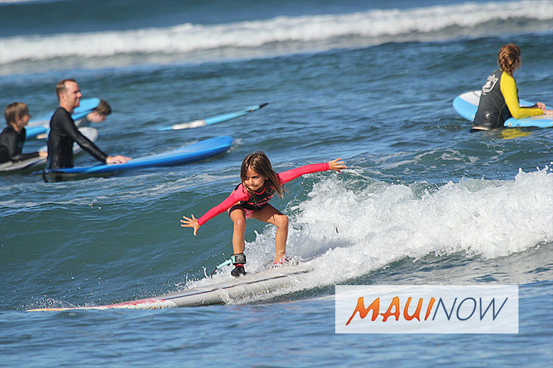 Maui Surf School Named One of TripAdvisorʻs Most Popular Classes
