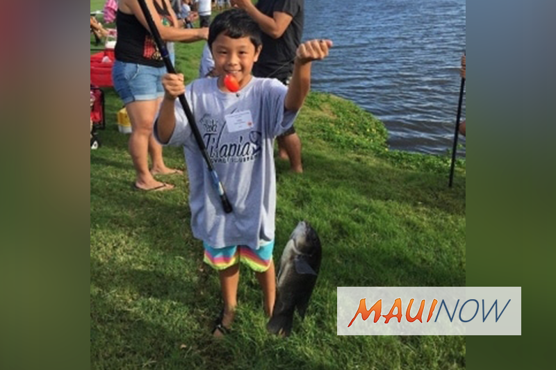 Keiki Fishing Tournament to Raise Money for Maui United Way