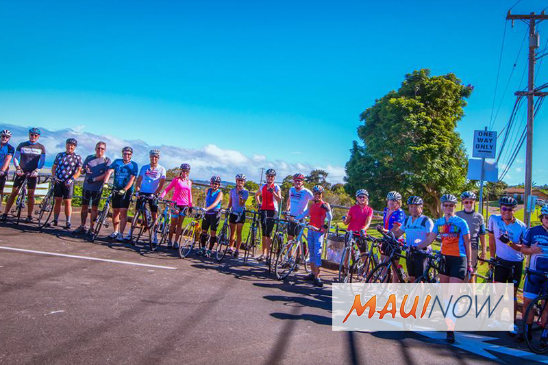 Maui Bicycling League to Host Series of Island-Wide Rides