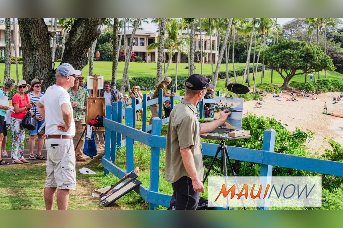 Maui Arts League to Host Plein Air Painting Event