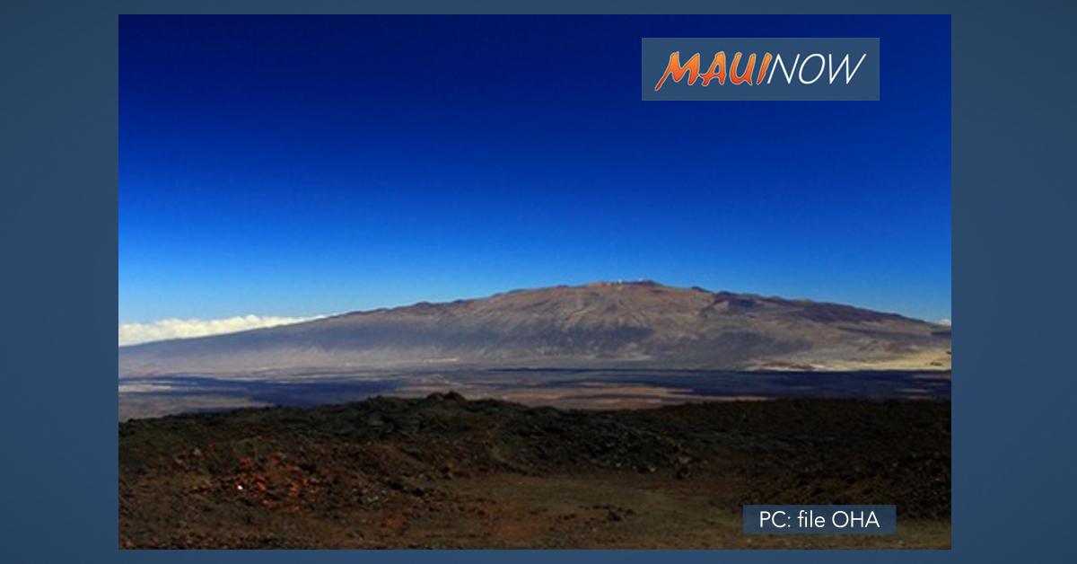 Meeting on Maunakea Administrative Rules Moved to Hawaiʻi Island