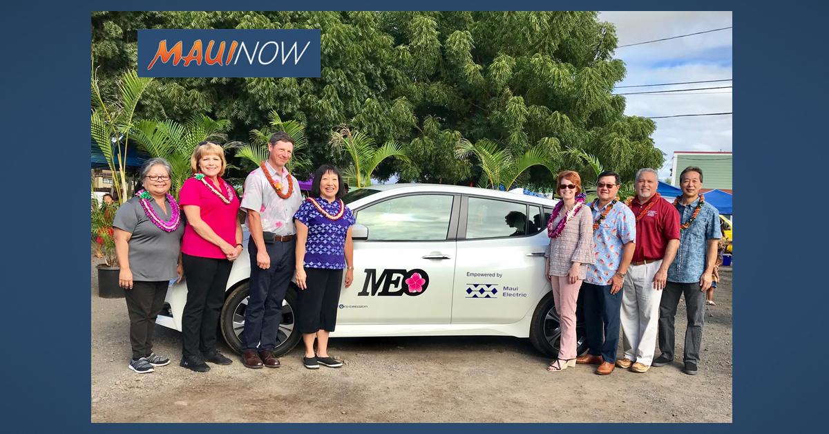 Electric Vehicle Donated to MEO Moloka'i Program