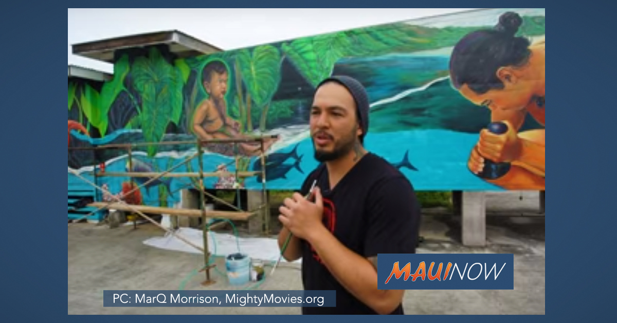 Maui Mural Team Highlighted in Micro-Doc