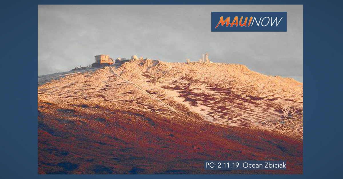 Bouts of Winter Weather Continues for Haleakalā
