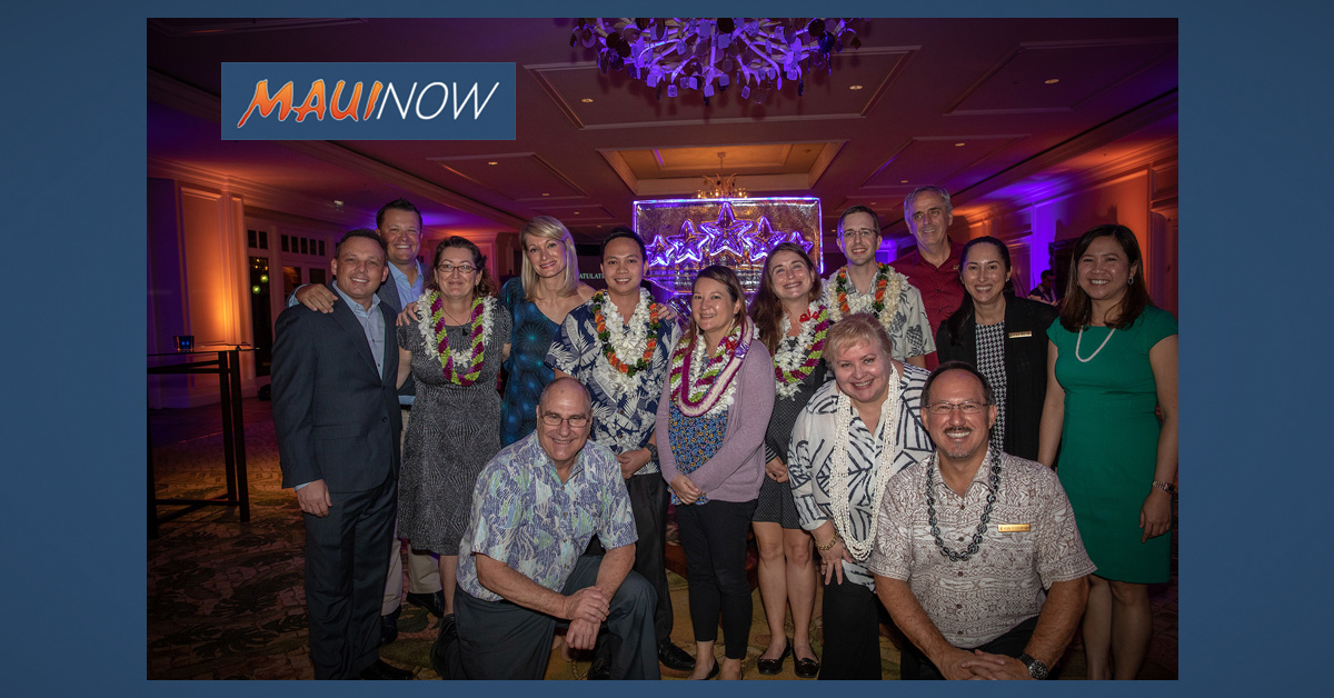 The Ritz-Carlton Kapalua 5-Star Employees Honored