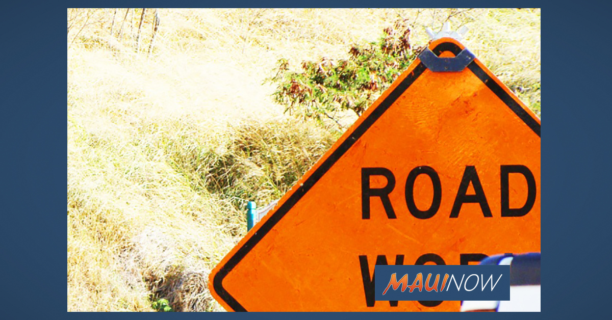 South Kīhei Road Resurfacing to End March 6