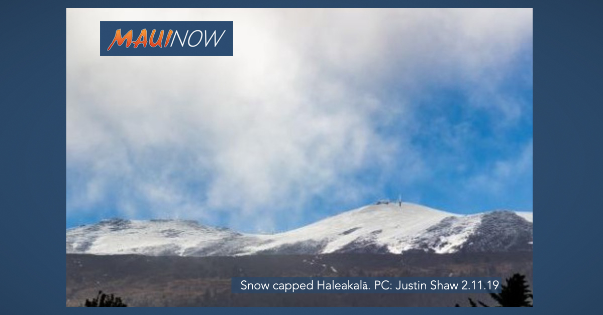 Haleakalā Summit Officially Reopens After 6 Days of Snow