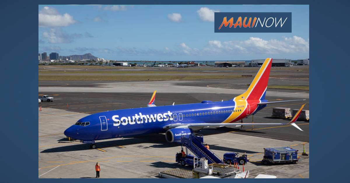 Southwest's Rolls Out Second Wave of Hawai'i Service This Week