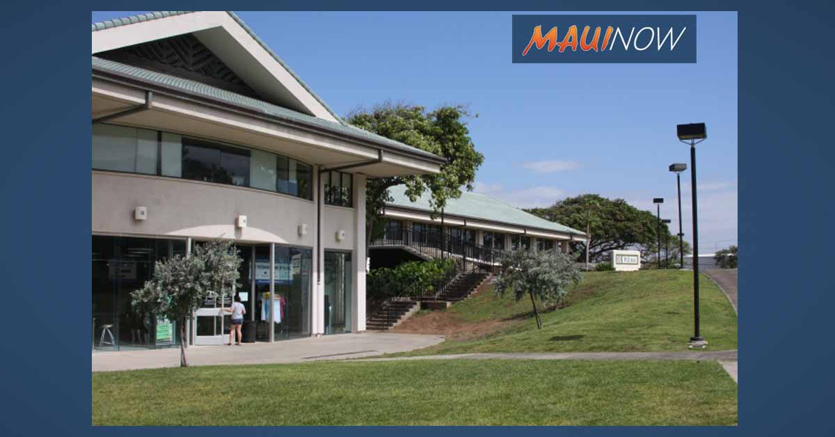 UH Student Enrollment Down on Maui College Campus and Across the State