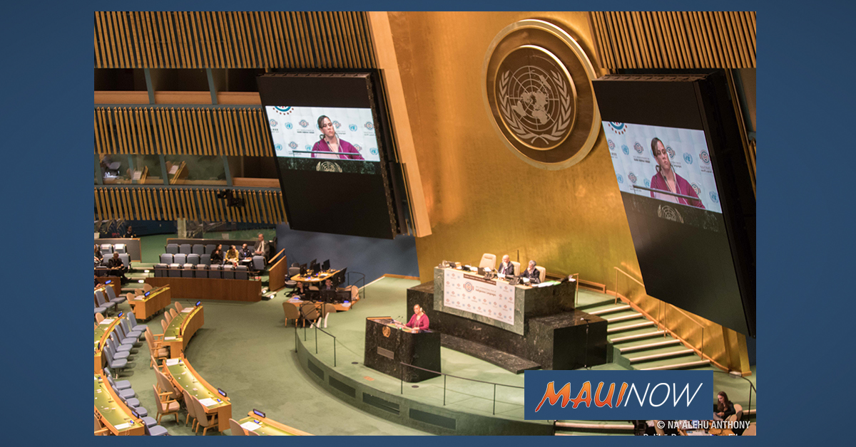 Hawaiian Language Takes Center Stage at United Nations