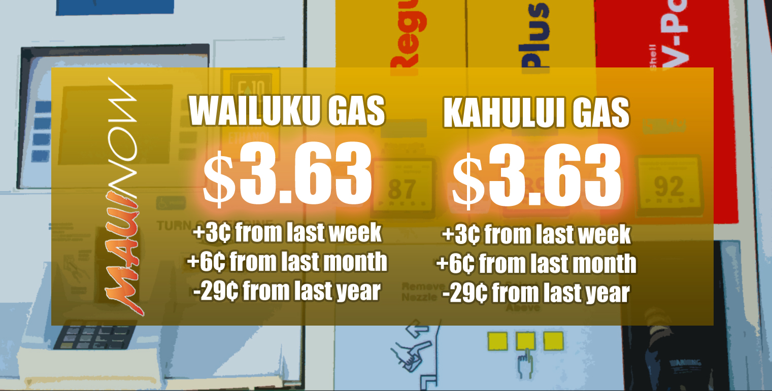 Maui Gas Prices Rise This Week