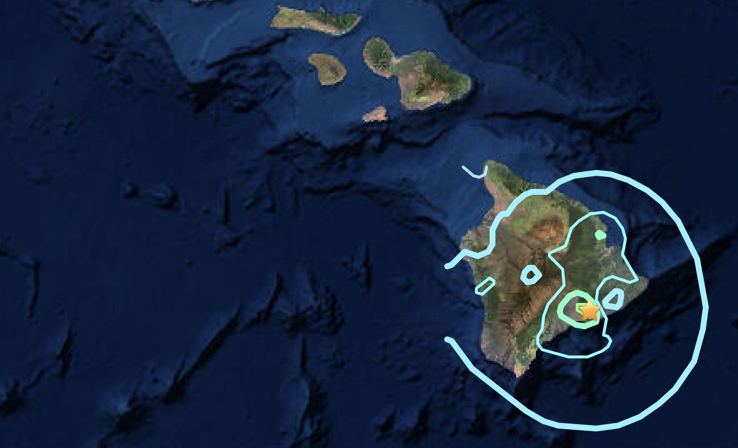 Magnitude-5.5 Earthquake on Kīlauea Volcano's south flank